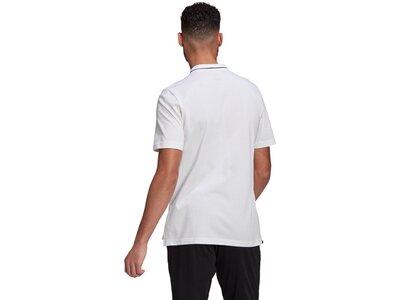 adidas Herren AEROREADY Essentials Piqué Small Logo Poloshirt Grau