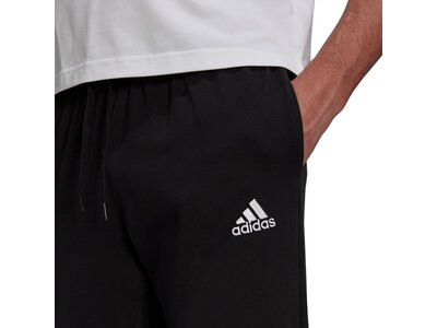 adidas Herren Essentials Single Jersey Tapered Cuff Hose Schwarz