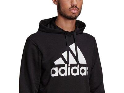 adidas Herren Essentials Big Logo Hoodie Schwarz