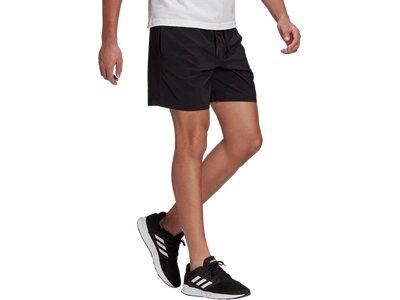 adidas Herren AEROREADY Essentials Chelsea Small Logo Shorts Schwarz