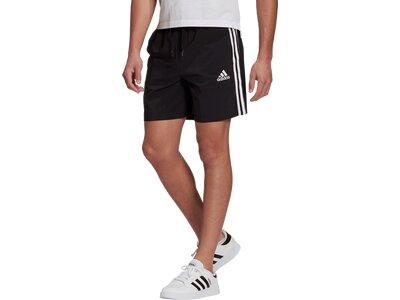 adidas Herren AEROREADY Essentials Chelsea 3-Streifen Shorts Schwarz