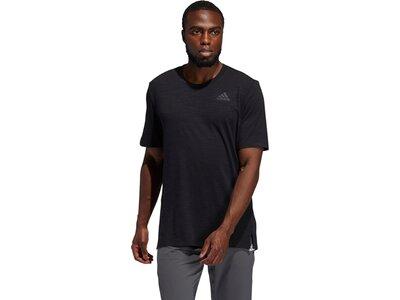 adidas Herren City Elevated T-Shirt Schwarz