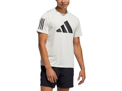ADIDAS Herren Shirt FL 3 BAR Grau