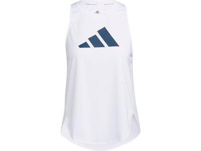 """ADIDAS Damen Trainingstop """"3 Bar Logo"""" Weiß"""