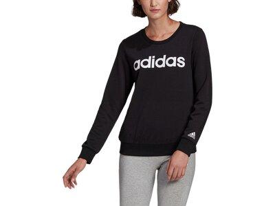adidas Damen Essentials Logo Sweatshirt Schwarz