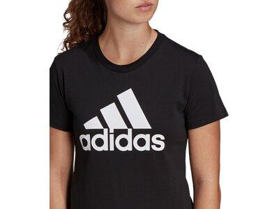 adidas Damen Loungewear Essentials Logo T-Shirt Schwarz