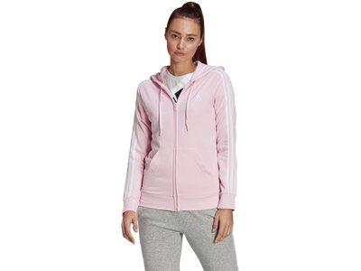 ADIDAS Damen Kapuzensweat 3S FT FZ HD pink