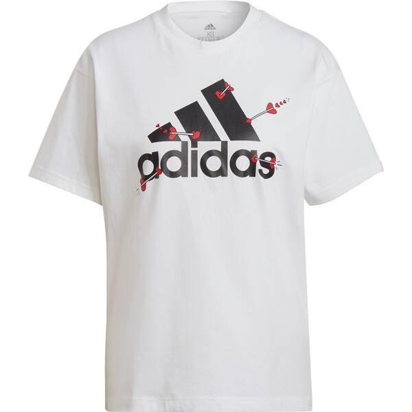 adidas Damen Valentine Graphic T-Shirt – Genderneutral