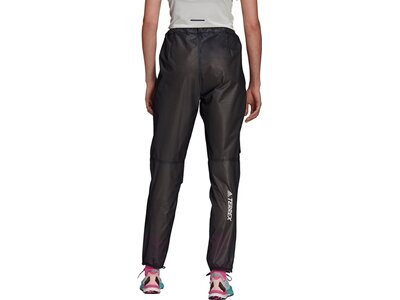 adidas Damen TERREX Agravic Trail Running 2,5-Layer Regenhose Schwarz