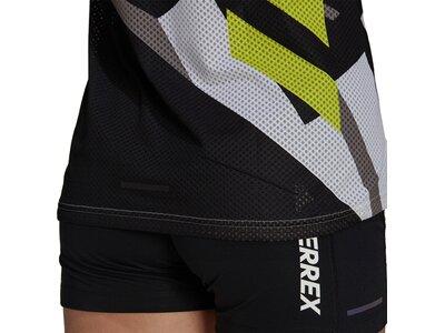 adidas Damen TERREX Parley Agravic TR Pro T-Shirt Silber