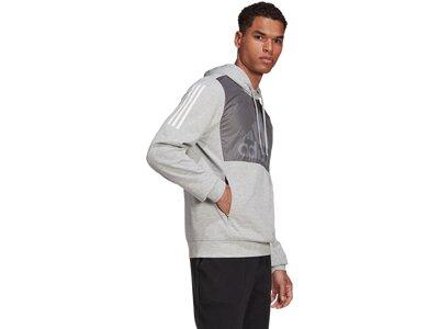 ADIDAS Lifestyle - Textilien - Sweatshirts Aerodeady Hoody Silber
