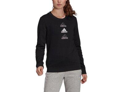 ADIDAS Damen Sweatshirt S SWT Schwarz