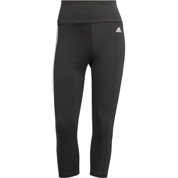 adidas Damen HIGH RISE 3-STRIPES 3/4 SPORT TIGHTS