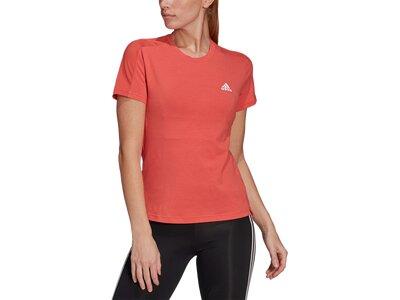 "ADIDAS Damen Trainingsshirt ""Designed To Move"" Kurzarm Orange"