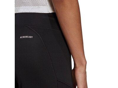 adidas Damen Designed To Move Bootcut Hose Schwarz