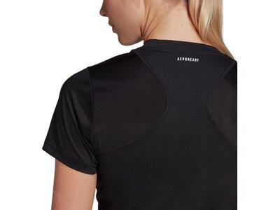adidas Damen Club Tennis T-Shirt Schwarz