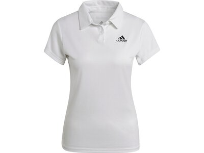 adidas Damen HEAT.RDY Tennis Poloshirt Grau