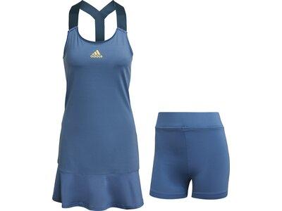 adidas Damen Tennis Y-Kleid Blau