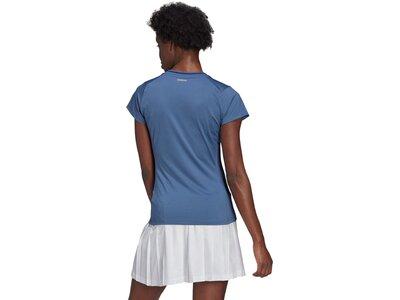 adidas Damen Tennis Freelift T-Shirt Blau