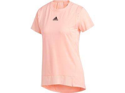 """ADIDAS Damen Trainingsshirt """"Heat Ready"""" Kurzarm Pink"""