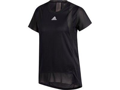 adidas Damen HEAT.RDY Training T-Shirt Schwarz