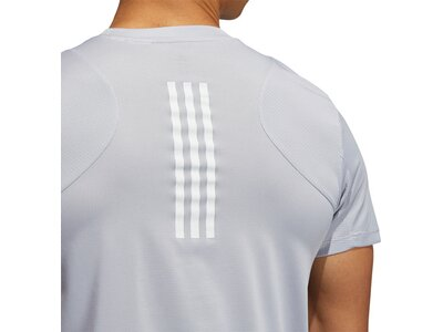"ADIDAS Herren Trainingsshirt ""Heat.Rdy"" Kurzarm Grau"