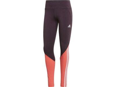 ADIDAS Running - Textil - Hosen kurz Leggings Damen Grau