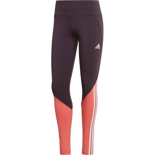 Hosen - ADIDAS Running Textil Hosen kurz Leggings Damen › Grau  - Onlineshop Intersport