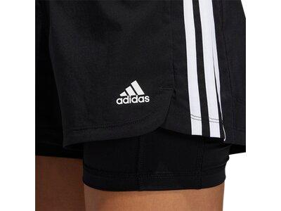 """ADIDAS Damen Shorts """"Pacer"""" Schwarz"""