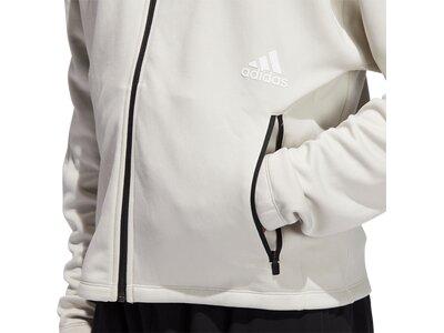 ADIDAS Herren Sweatshirtjacke mit Kapuze Grau