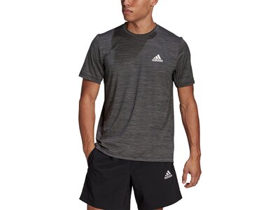 adidas Herren AEROREADY Designed To Move Sport Stretch T-Shirt Grau
