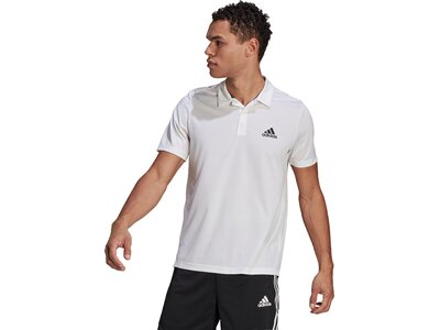 adidas Herren AEROREADY Designed To Move Sport Poloshirt Pink