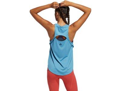 ADIDAS Damen Shirt BOS LOGO Blau