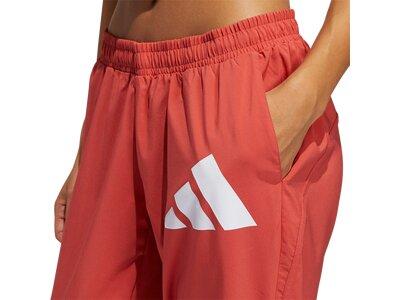 ADIDAS Damen Sporthose WOVEN BOS Rot