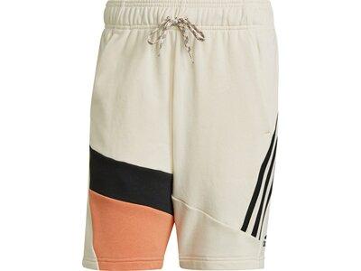 ADIDAS Fußball - Textilien - Shorts 3 Stripes Tape Summer Short ADIDAS Fußball - Textilien - Shorts Braun
