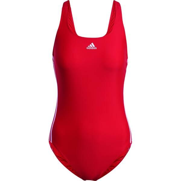 Bademode - ADIDAS Damen Badeanzug SH3.RO 3S › Rot  - Onlineshop Intersport
