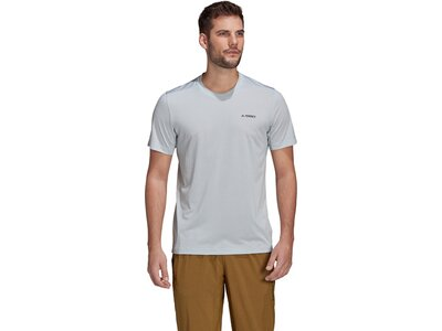 adidas Herren TERREX Tivid T-Shirt Grau