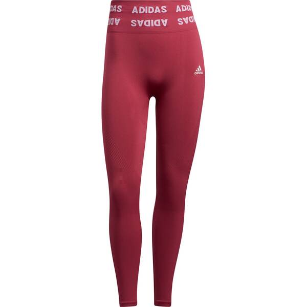 adidas Damen TRAINING BRANDED AEROKNIT 7/8 HIGH RISE TIGHT