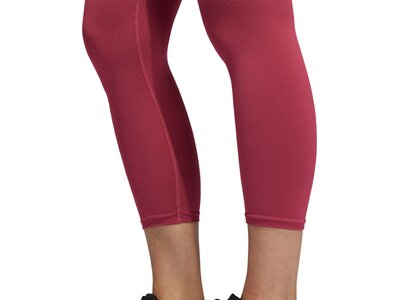 adidas Damen TRAINING BRANDED AEROKNIT 7/8 HIGH RISE TIGHT Lila