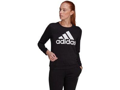 ADIDAS Damen Sweatshirt W BL FT SWT Schwarz
