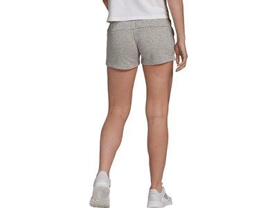 adidas Damen Essentials Regular Shorts Grau