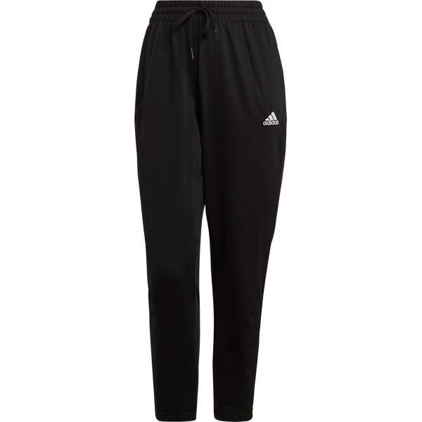 Hosen - adidas Damen Essentials Logo 7 8 Hose › Schwarz  - Onlineshop Intersport