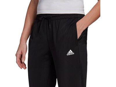 adidas Damen Essentials Logo 7/8-Hose Schwarz