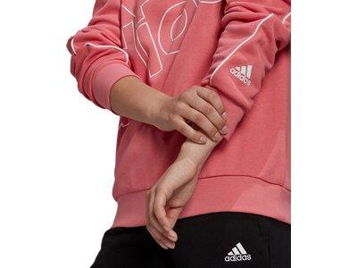 ADIDAS Damen Sweatshirt FAV Q1 SWT Pink