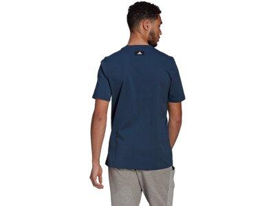 ADIDAS Herren Shirt FI GFX Blau