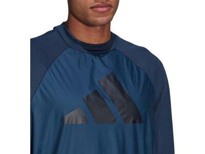 ADIDAS Herren Sweatshirt M FI TT Q1 Blau