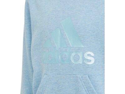 ADIDAS Kinder Kapuzensweat G FI Logo HD Blau
