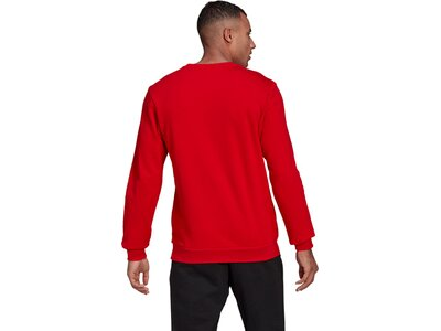 adidas Herren Essentials Big Logo Sweatshirt Rot