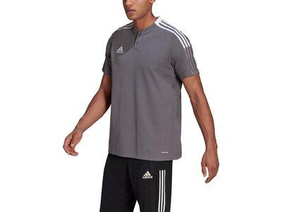 ADIDAS Fußball - Teamsport Textil - Poloshirts Tiro 21 Poloshirt ADIDAS Fußball - Teamsport Textil - Grau