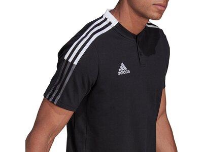 ADIDAS Fußball - Teamsport Textil - Poloshirts Tiro 21 Poloshirt ADIDAS Fußball - Teamsport Textil - Schwarz